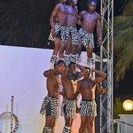 Kenyan acrobats - good show