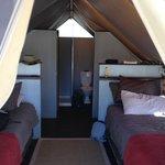 Std Tent inside