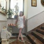 the beautiful ornate stairway