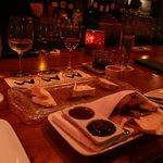 チーズとワインのティスティング