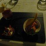 """Dessert insipide """"autour des fraises"""""""