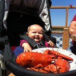 My first lobster :)