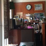 Granny's Office at front door hostess station