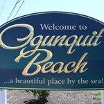 Ogunquit's welcome panel