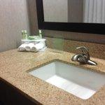 Bathroom at Holiday Inn Express, Kerrville TX