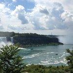 A beautiful day at Niagara Falls, Ontario - August 2013