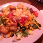 The house salad at Texas Roadhouse