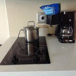 Cooking area of Candlewood Suites