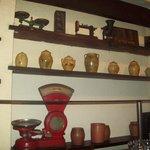 Decoração típica de armazém do interior