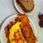 Sunshine Cafe Denver Omelete with GF toast