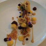 Chocolate granache dessert