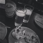 Empanadas y cerveza Brahma!!! Tooopppp
