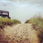 Sandy path to beach (2 blocks from Inn)