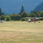 Hope Air Port glider & tow plane