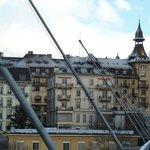 Pont Chaudron - acesso ao hotel
