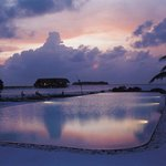 Infinity Pool in COMO Cocoa Island, Maldives