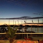 sunrise de la terrasse principale