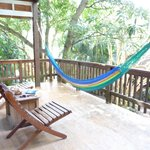Loved my hammock and deck with view...peace!!!