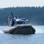 Hovercraft on Lake Coeur d'Alene