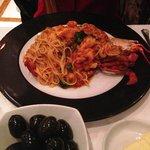 Spagetti lobster