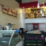 Inside Temptations Icecream & Coffee