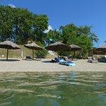 plage aménagée