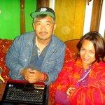 Tashi and a philipino friend