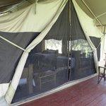 Tente Bufalo terrasse