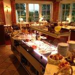 Frühstücksraum und Speisesaal