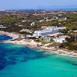 Insotel Hotel Formentera Playa. Vista aérea
