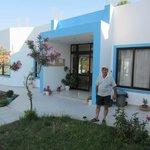 Entrance with Giorgos