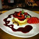 Gorgeous Vanilla Cheesecake - a taste of perfection.