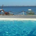 Du bord de la piscine