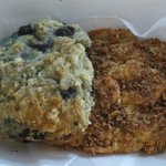 blueberry and sweet potato scones