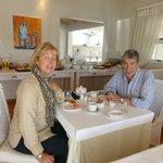 an excellent breakfast in Swakop Guesthouse