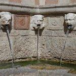 particolare della fontana