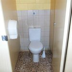 Clean tidy amenities