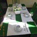 Mesa Preparada p/ Café da Manhã