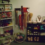 Yarns, Fiber and Nuno Felt Scarves