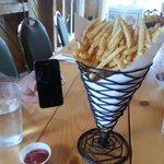 (very) large order of fries