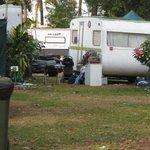 State of caravan park