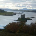 The view of Castle Stalker