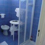 spazio a disposizione per doccia più grande