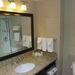 Granite counters in all bathrooms