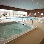 Hot Tub, located in the indoor pool area