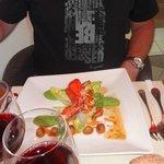 salade césar-homard