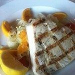 Swordfish with fennel/orange salad-divine!