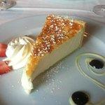 the creamiest ricotta pie I've ever had!