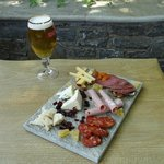 Beer meze for two
