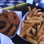 Onion Rings and Fries